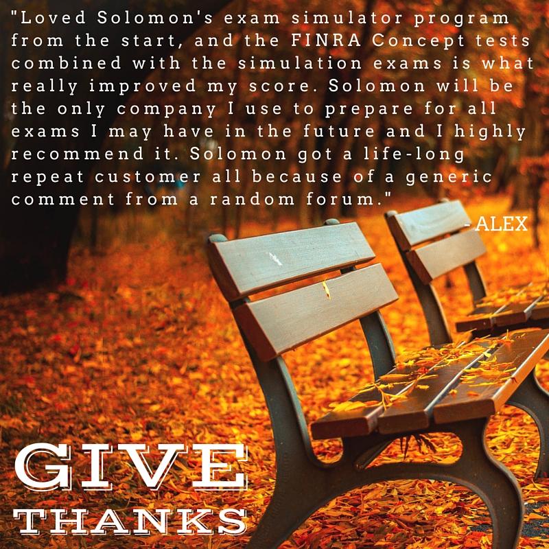 Testimonial Tuesday (November)