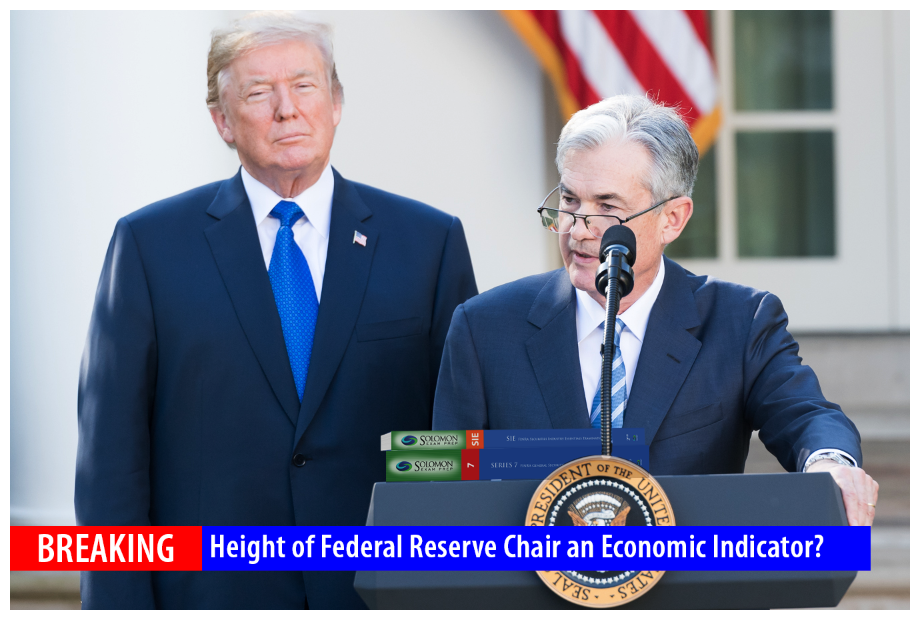 Height of Federal Reserve Chairperson an Economic Indicator?
