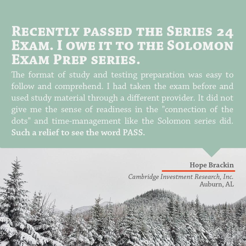 Testimonial Tuesday – January Edition