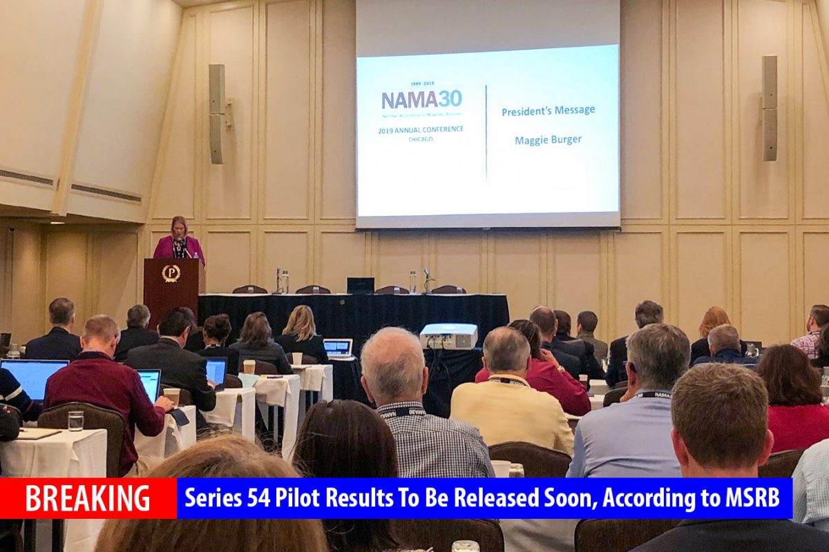 Series 54 Pilot Results to be released soon, Says MSRB