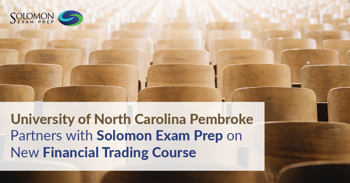 University of North Carolina Pembroke partners with Solomon on Financial Trading course
